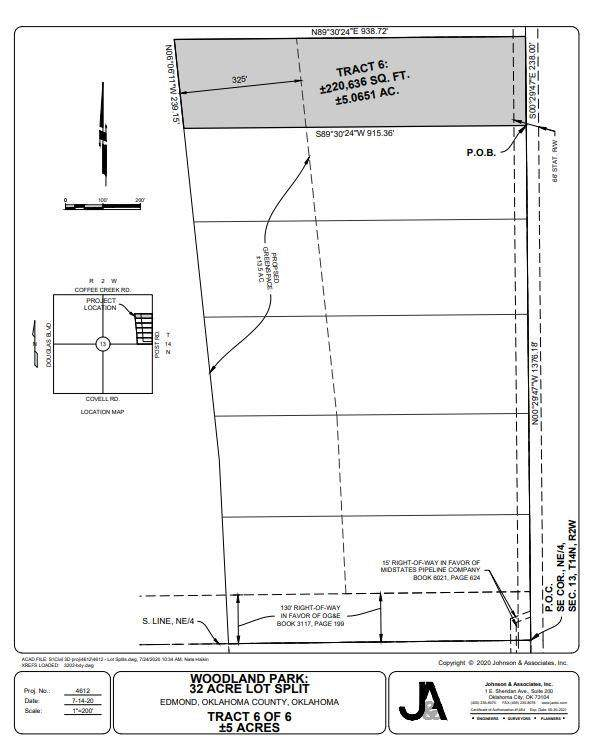 Post Road, Edmond, OK 73034 (MLS #933699) :: The UB Home Team at Whittington Realty