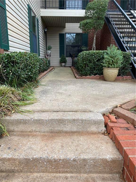4400 Hemingway Drive #142, Oklahoma City, OK 73118 (MLS #940086) :: The UB Home Team at Whittington Realty