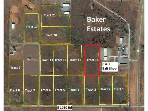14 E E1030 Road, Foss Lake, OK 73647 (MLS #941259) :: The UB Home Team at Whittington Realty