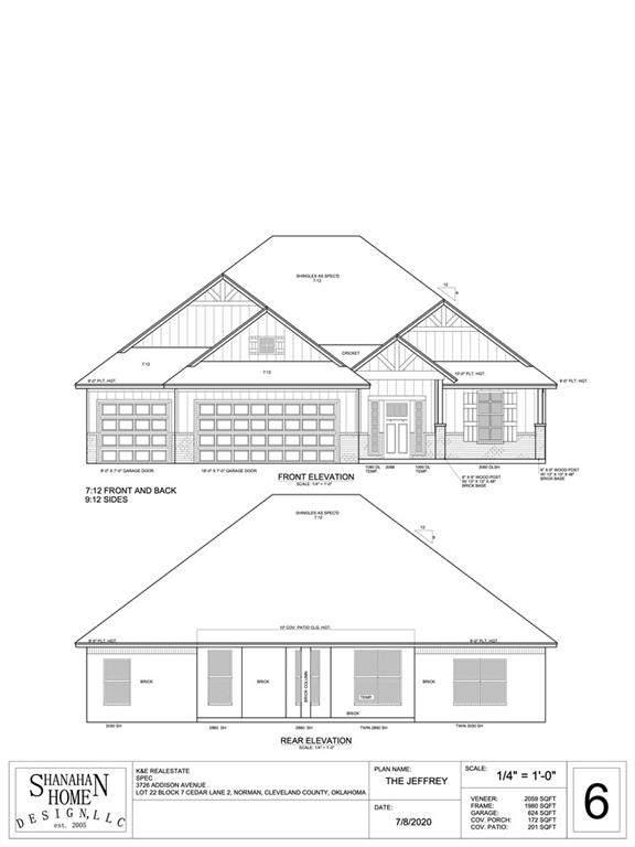 3726 Addison Avenue, Norman, OK 73072 (MLS #942428) :: The UB Home Team at Whittington Realty