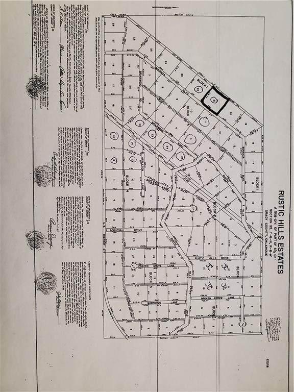 25 W Rustic Hills Estates, Ninnekah, OK 73067 (MLS #946971) :: Keller Williams Realty Elite