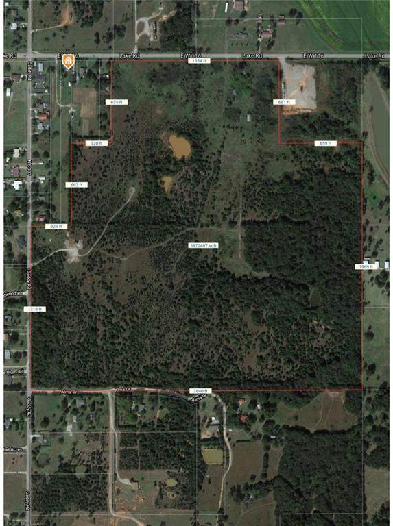 00 Lake Rd Tract 3 10 Acres Road, Shawnee, OK 74801 (MLS #947047) :: Your H.O.M.E. Team