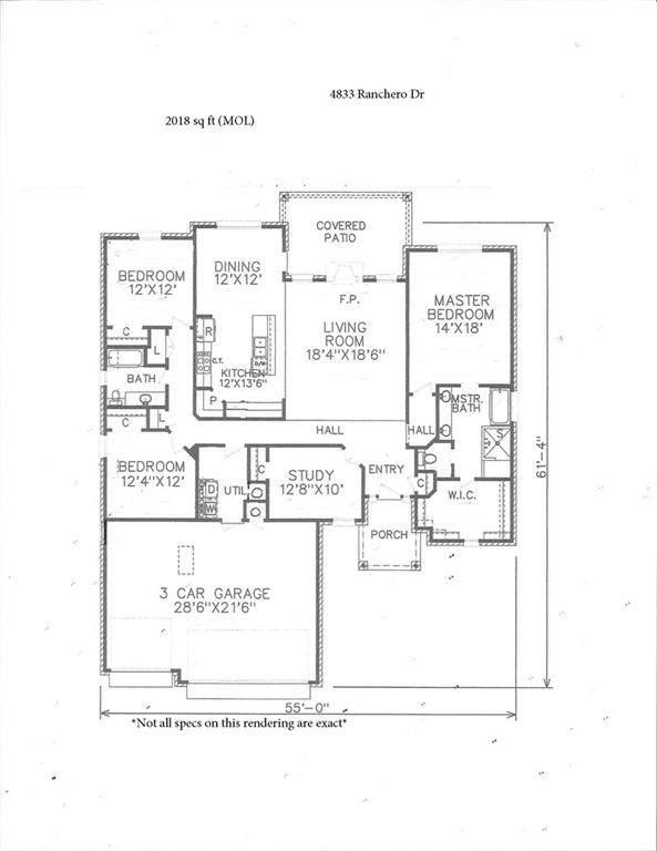 4833 Ranchero Dr, Edmond, OK 73025 (MLS #947876) :: The UB Home Team at Whittington Realty