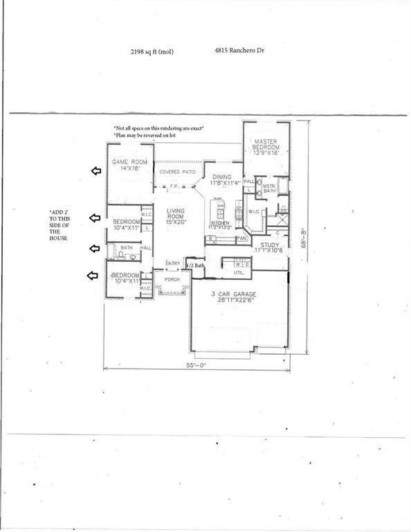 4815 Ranchero Dr, Edmond, OK 73025 (MLS #947883) :: The UB Home Team at Whittington Realty