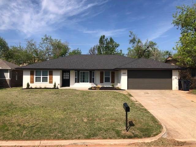 10605 N Dorothy Drive, Oklahoma City, OK 73162 (MLS #953835) :: Erhardt Group at Keller Williams Mulinix OKC