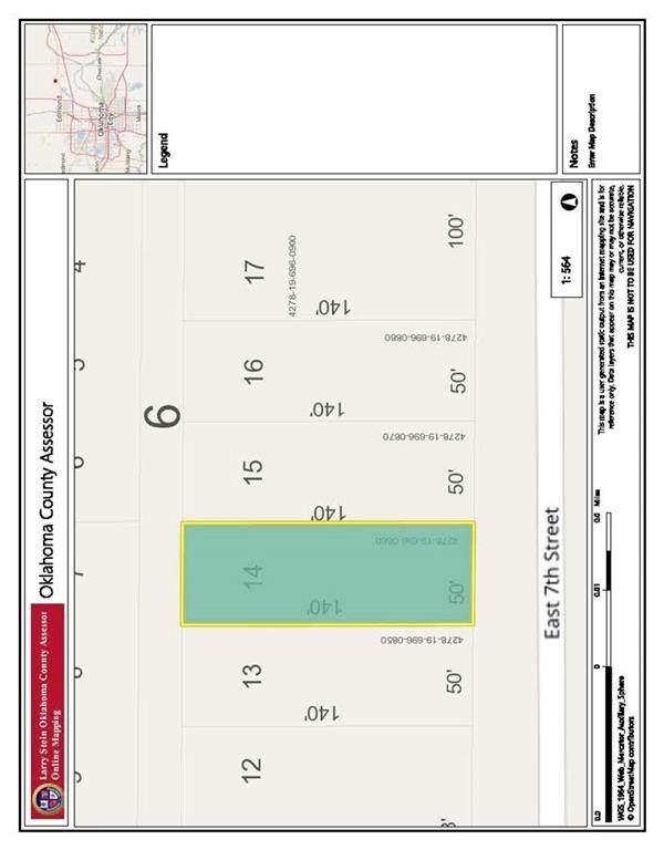 Division And 7th Street, Arcadia, OK 73007 (MLS #955360) :: Maven Real Estate