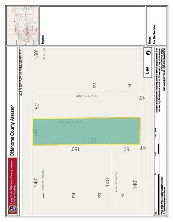 2nd And Broadway Street, Arcadia, OK 73007 (MLS #955362) :: Keller Williams Realty Elite