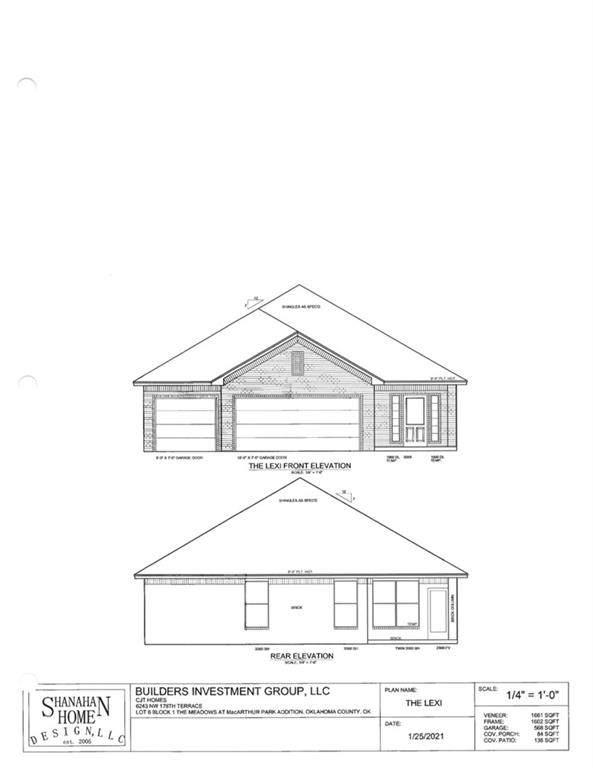 6243 NW 178th Terrace, Edmond, OK 73012 (MLS #956043) :: Erhardt Group at Keller Williams Mulinix OKC