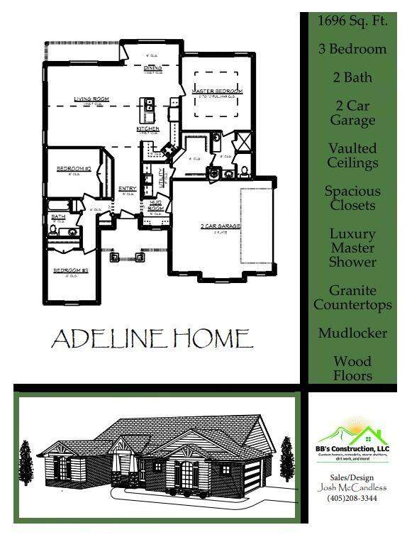 2443 Fox Lane, Blanchard, OK 73010 (MLS #956115) :: Homestead & Co