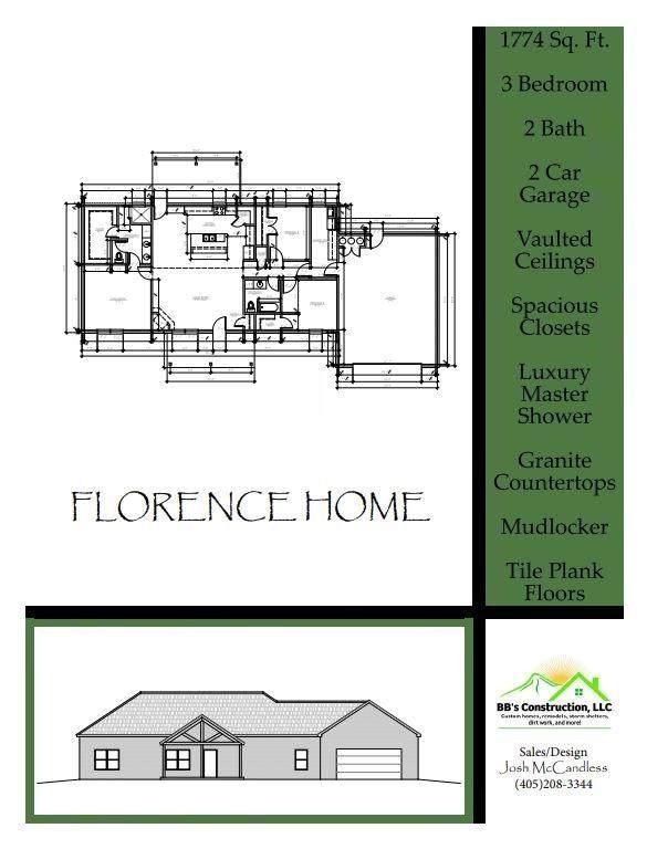 2445 Fox Lane, Blanchard, OK 73010 (MLS #956125) :: Homestead & Co