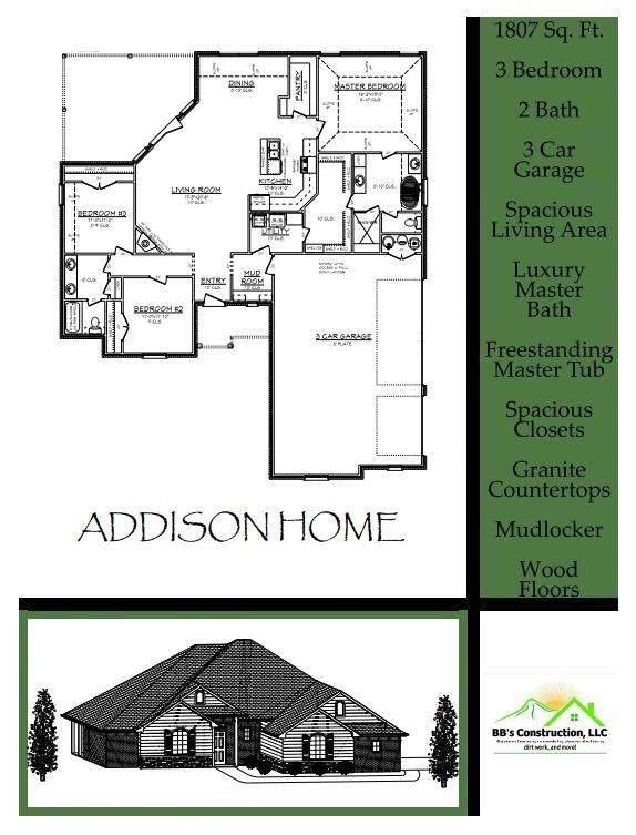 2447 Fox Lane, Blanchard, OK 73010 (MLS #956129) :: Homestead & Co