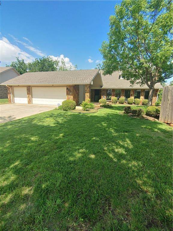 6913 N Lake Front Drive, Oklahoma City, OK 73132 (MLS #957523) :: KG Realty