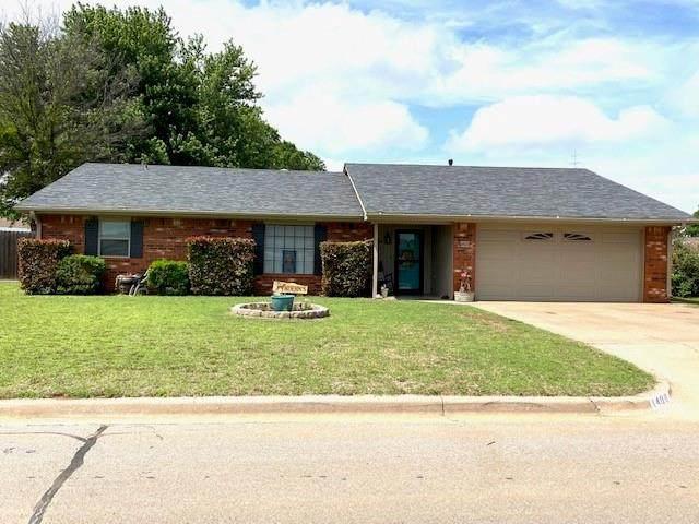 1409 Plains Avenue, Weatherford, OK 73096 (MLS #958117) :: Maven Real Estate