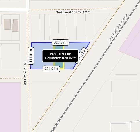 NW ---, Oklahoma City, OK 73114 (MLS #961539) :: The UB Home Team at Whittington Realty