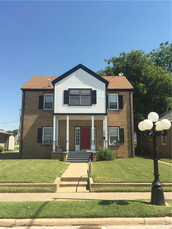 409 W Main Street, Purcell, OK 73080 (MLS #962534) :: Erhardt Group at Keller Williams Mulinix OKC