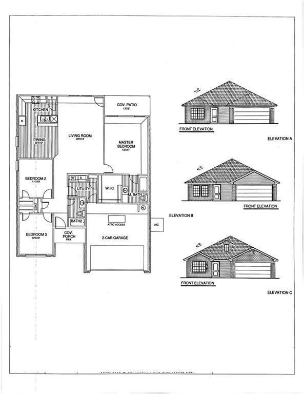 1013 S Blackjack Lane, Mustang, OK 73064 (MLS #964956) :: ClearPoint Realty