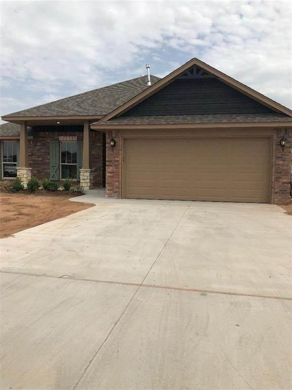 4100 Idlybreeze Drive, Oklahoma City, OK 73179 (MLS #968235) :: The UB Home Team at Whittington Realty