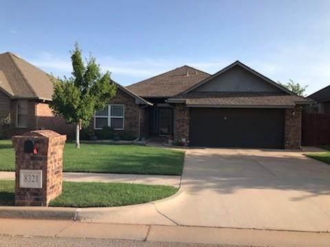 8321 NW 141st Circle, Oklahoma City, OK 73142 (MLS #968736) :: Homestead & Co