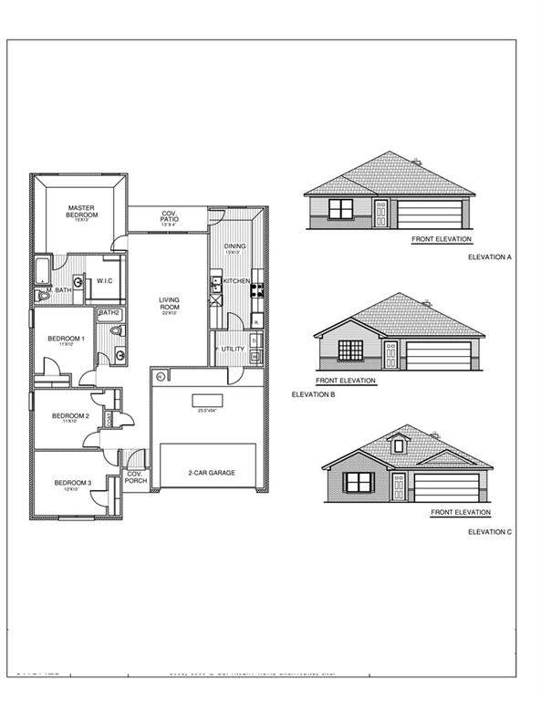 1105 S Blackjack Lane, Mustang, OK 73064 (MLS #971453) :: The UB Home Team at Whittington Realty