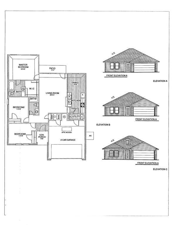 1113 S Appaloosa Lane, Mustang, OK 73064 (MLS #971456) :: The UB Home Team at Whittington Realty