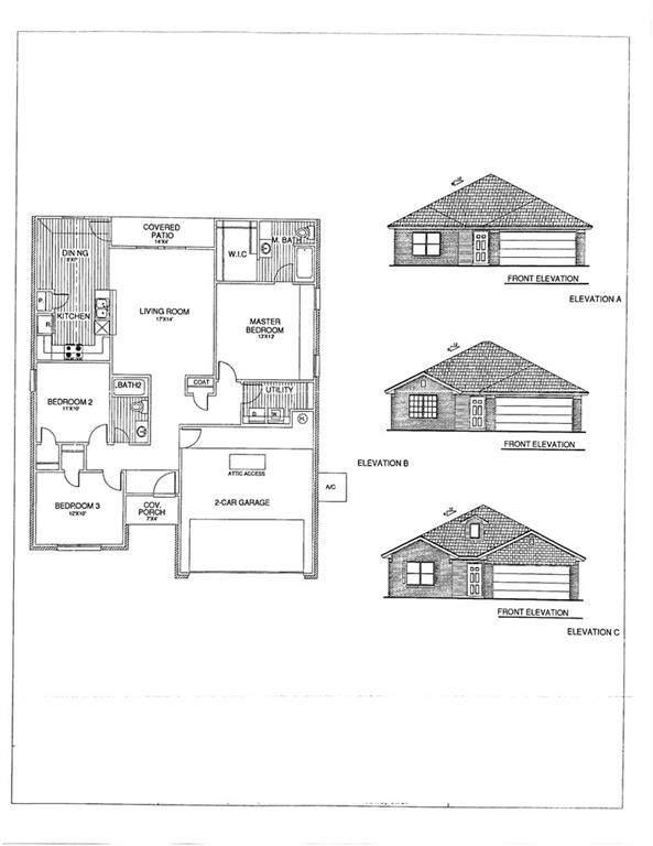 1025 S Blackjack Lane, Mustang, OK 73064 (MLS #973602) :: The UB Home Team at Whittington Realty