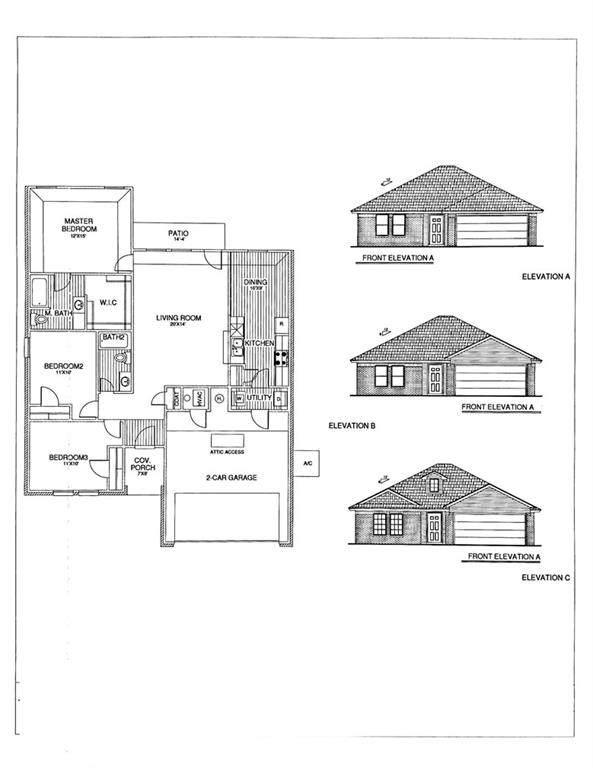 1017 S Blackjack Lane, Mustang, OK 73064 (MLS #973603) :: The UB Home Team at Whittington Realty