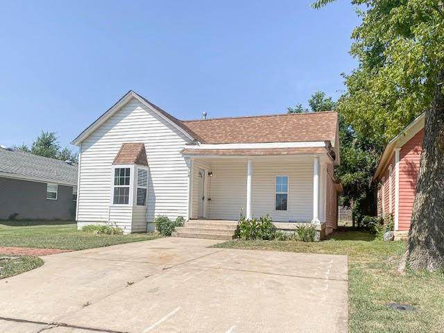 708 E Cleveland Avenue, Guthrie, OK 73044 (MLS #975094) :: Meraki Real Estate