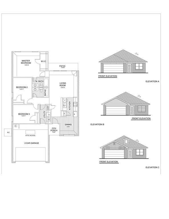 1112 S Appaloosa Lane, Mustang, OK 73064 (MLS #975408) :: The UB Home Team at Whittington Realty