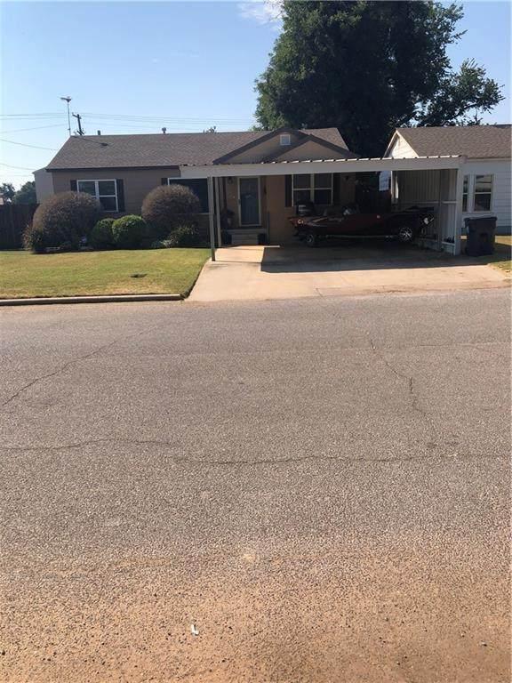 608 W Virginia Avenue, Anadarko, OK 73005 (MLS #976165) :: Erhardt Group