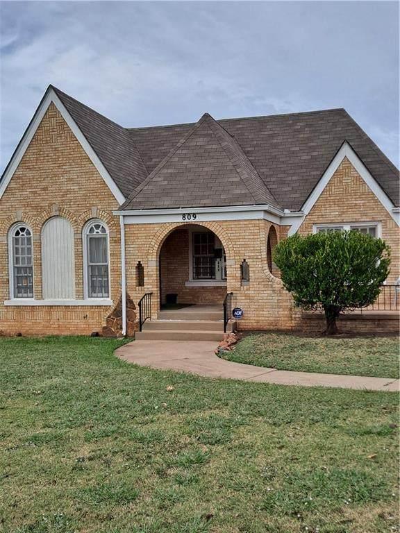 809 NE 24th Street, Oklahoma City, OK 73105 (MLS #981256) :: ClearPoint Realty