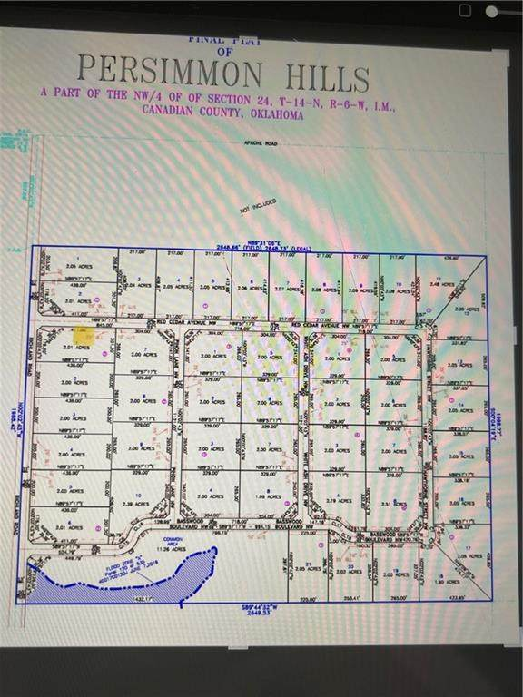 Lot 001 Of Block 002, Piedmont, OK 73099 (MLS #981884) :: Meraki Real Estate
