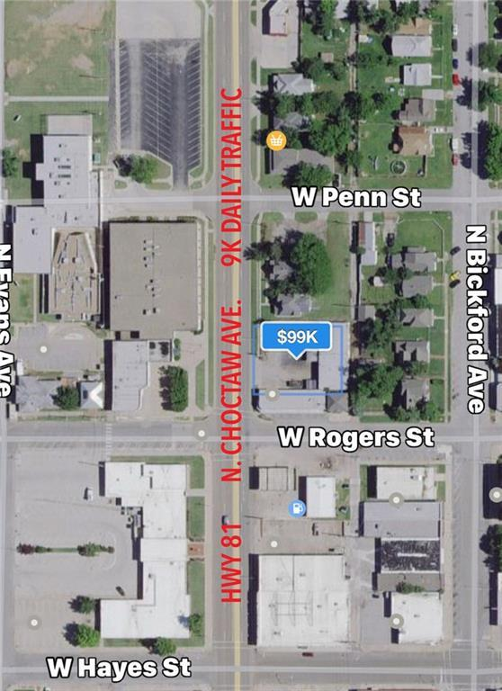 306 N Choctaw Avenue, El Reno, OK 73036 (MLS #805146) :: Barry Hurley Real Estate