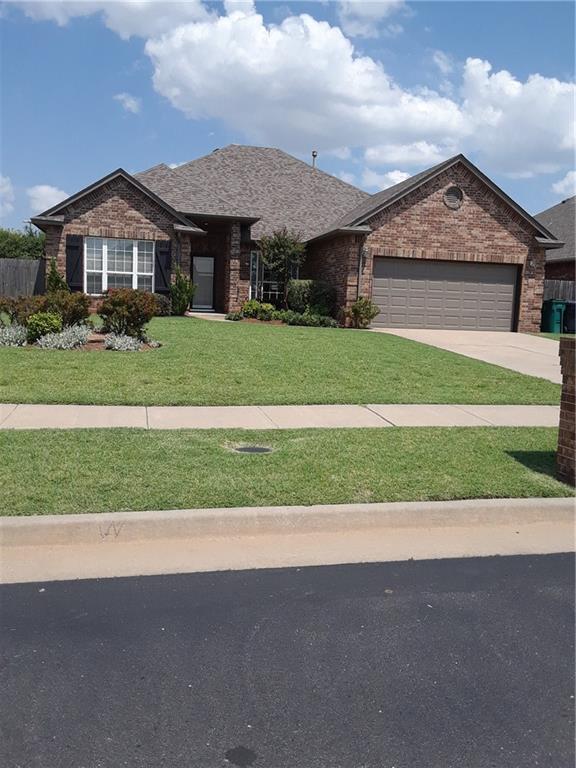 13508 Gramercy Park Place, Oklahoma City, OK 73142 (MLS #818568) :: Wyatt Poindexter Group