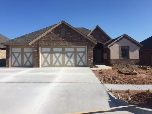 11717 SW 25th Terrace, Yukon, OK 73099 (MLS #828637) :: Wyatt Poindexter Group