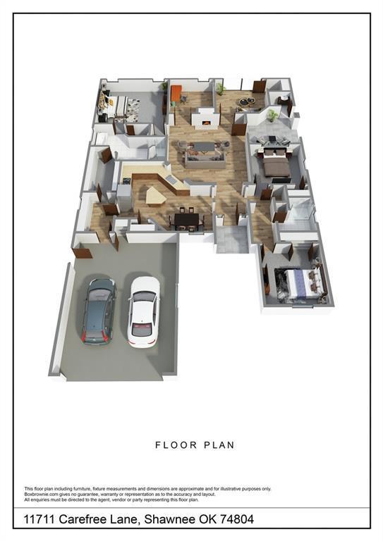 11711 Carefree Lane, Shawnee, OK 74804 (MLS #855760) :: KING Real Estate Group