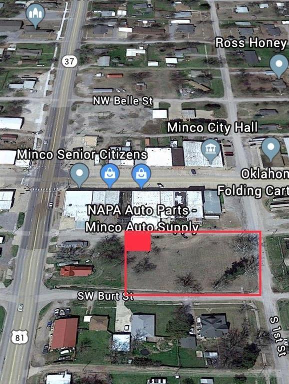 SW 2nd And Burt Street, Minco, OK 73059 (MLS #869315) :: Keri Gray Homes