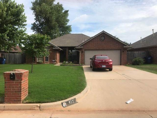 417 E Twelve Oaks Terrace, Mustang, OK 73064 (MLS #908250) :: Keri Gray Homes