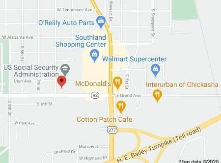515 W Utah, Chickasha, OK 73018 (MLS #931726) :: Homestead & Co