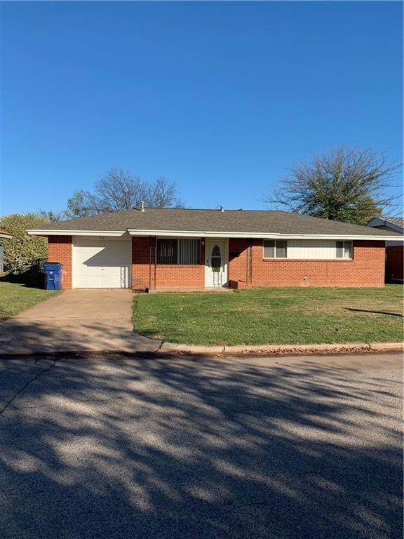 412 Pryor Drive, Lindsay, OK 73052 (MLS #936381) :: ClearPoint Realty