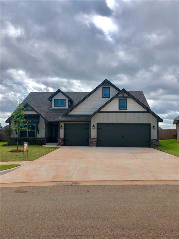 3128 Brookstone Ridge, Mustang, OK 73099 (MLS #861491) :: Homestead & Co