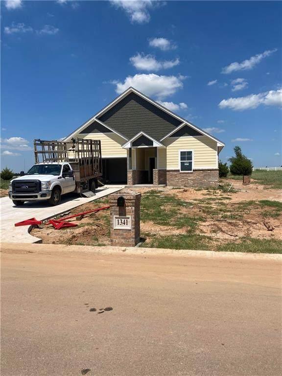 1341 Round Leaf Road, Edmond, OK 73034 (MLS #950525) :: Maven Real Estate