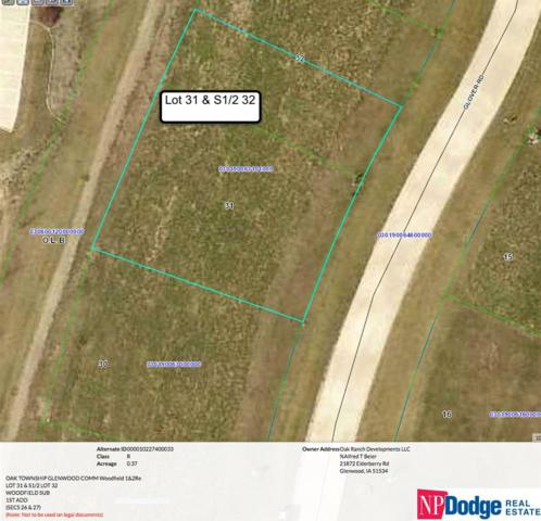 Lot 31 & S 1/2 Lot 32 Glover Road, Glenwood, IA 51534 (MLS #21713843) :: Nebraska Home Sales