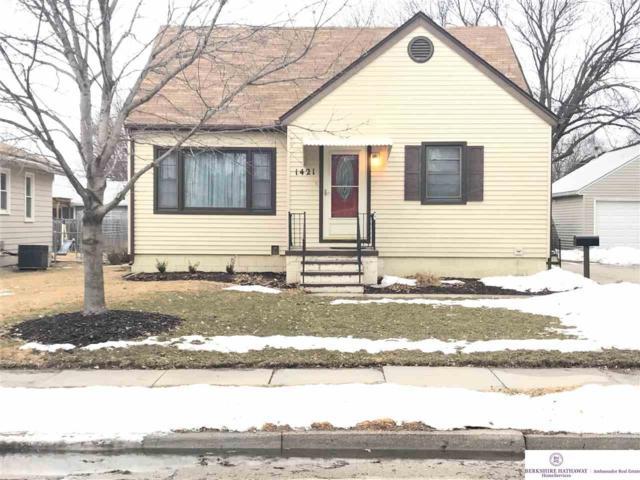 1421 N Hancock Street, Fremont, NE 68025 (MLS #21903643) :: Dodge County Realty Group