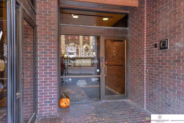 312 S 16 Street #405, Omaha, NE 68102 (MLS #21925340) :: The Briley Team