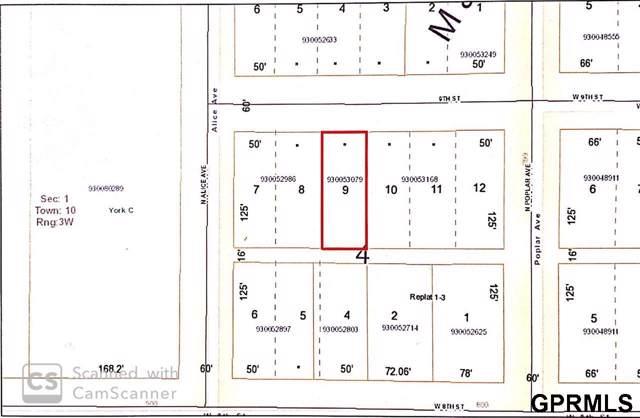 Lot 9, Block 4 Mansfields Sub, York, NE 68467 (MLS #21929268) :: Cindy Andrew Group