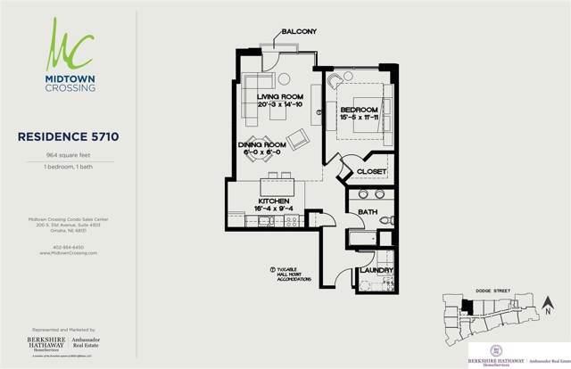 120 S 31st Avenue #5710, Omaha, NE 68131 (MLS #22000232) :: Stuart & Associates Real Estate Group