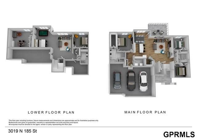 3019 N 185 Street, Elkhorn, NE 68022 (MLS #22027892) :: Omaha Real Estate Group