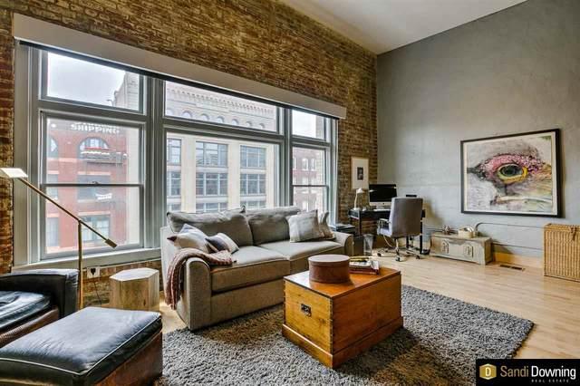 420 S 11 Street #408, Omaha, NE 68102 (MLS #22114522) :: Elevation Real Estate Group at NP Dodge
