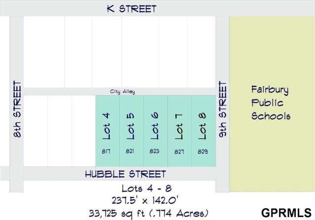 823 Hubble Street, Fairbury, NE 68352 (MLS #L10153734) :: Complete Real Estate Group