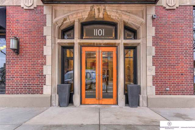 1101 Jackson Street #406, Omaha, NE 68102 (MLS #22100440) :: Stuart & Associates Real Estate Group